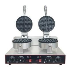 Double Waffle Maker - Heavy Duty