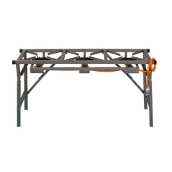 3 Burner Gas Boiling Table With Foldable Legs