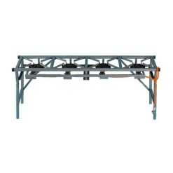 4 Burner Gas Boiling Table With Foldable Legs