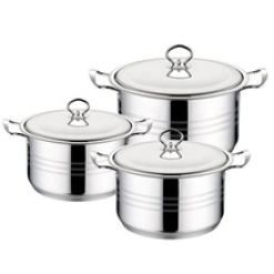 Cookware Set High Quality Stainless Steel Stock Pot-6 Piece