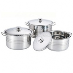 Cookware Set High Quality Stainless Steel Stock Pot Large-6 Piece