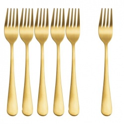 Cutlery Forks Gold-Pack of 6
