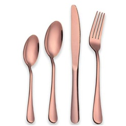 Cutlery Set Rose Gold-24 Piece