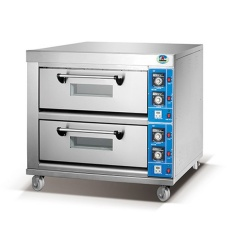 Electric Baking Oven-2 Deck 4 Tray
