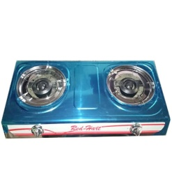 Gas Stove Stainless Steel-2 Burner