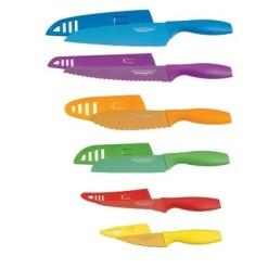 Knife Set Colour-6 Piece
