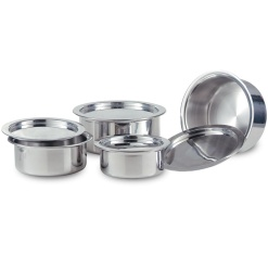 Unique Gujrati Pot Set Large-8 Piece (Curry Pot)