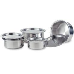 Unique Gujrati Pot Set Small-8 Piece (Curry Pot)