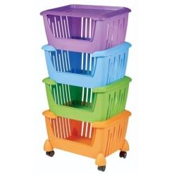 Rainbow Stacker Storage Unit