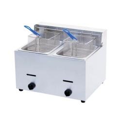 Ideal 10L Stainless Steel 2-Tank Gas Fryer