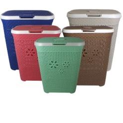 Otima-Daisy Linen-Laundry Basket-50 Litre